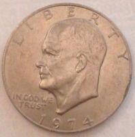IKE 1974 DOLLAR Eisenhower FROM hoard