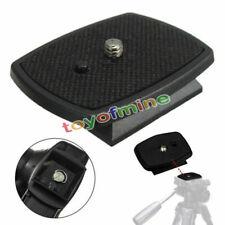 Tripod Quick Release Plate Screw Adapter Mount Head For DSLR SLR Digital Cameras