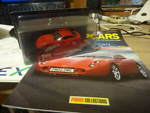 Panini Supercars Collection #59 TVR Tuscan T440R -2003 Scale 1/43