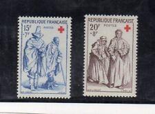 Francia Cruz Roja Serie del año 1957 (DQ-914)