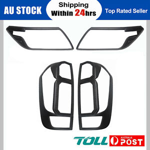 Fit for Nissan Navara NP300 D23 15-19 Headlight Taillight Light Lamp Covers