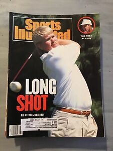 August 19 1991 John Daly President Bush Golf Sports Illustrated Magazine OLD