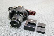 Canon EOS Rebel T7 DSLR Camera + 18-55mm Lens + 2 Batteries - Shutter Count 64