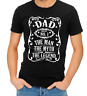Men's T Shirt Dad The Man The Myth The Legend Print