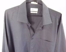 VAN HEUSEN Mens Long Sleeve Business Shirt Cuff Link European Cut Neck 44