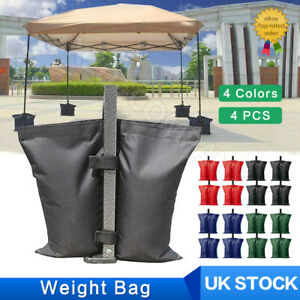 4PACK Garden Gazebo Foot Leg Feet Weights Sand Bag for Marquee Party Tent Set UK