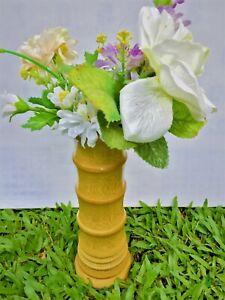 Sri Lankan Handmade beautiful  decorative wooden  flower vase