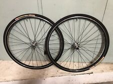 Campagnolo Veloce Hubs Laced To Ambrosio Evolution Rims, 9/10 Speed, 32 Spoke