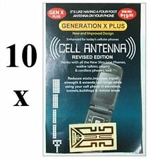 10 x Mobile phone signal booster. Cell antenna. Any mobile