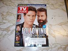 TV Guide Magazine January 20 2014 The Following Vampire Diaries Klondike