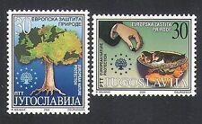 Yugoslavia 2000 Environment Protection/Tree/Birds/Nature/Plants 2v set (n33986)