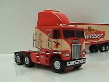 Matchbox THE SPRIT OF BUDWEISER   FREIGHT LINER  CAB OVER ENGINE