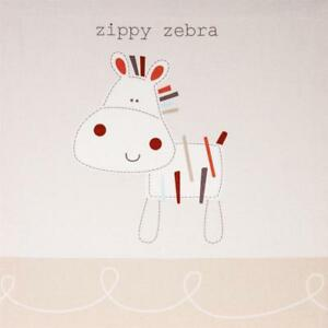 Baby Zippy Zebra Wall Canvas Nursery Decoration Accessories Gifts by Bed E Byes