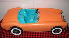 "1962 VTG.BARBIE *AUSTIN HEALEY*ORIGINAL SPORTS CAR~18""~1st BARBIE CAR~VERY CLEAN"