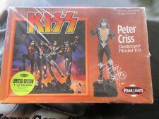 Kiss Peter Criss Destroyer Model Kit