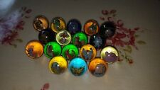 17 Pokémon marbles (3 metal and 3 legendary)
