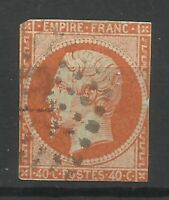 France Early 40c Orange Napoleon Good Used Condition From Old Collection