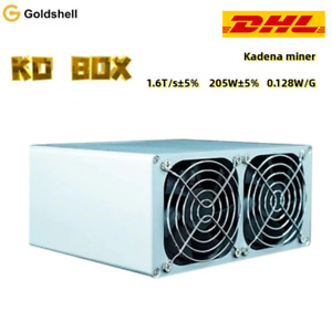 Goldshell KD-BOX Kadena miner Hash Power in a BOX 1.6T/s±5% | 205W±5% | 0.128W/G