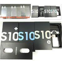 Samsung Galaxy S10 S10+ S10e Empty Retail Original box Accessories + Screen Seal