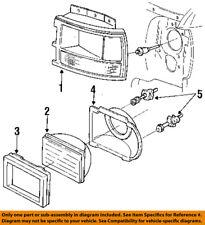Dodge CHRYSLER OEM 93-96 Dakota Headlight Head Light Lamp-Door Right 55054710