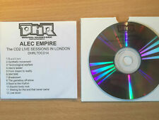 "ALEC EMPIRE-""CD2 LIVE SESSIONS""-RARE PROMO ONLY CDr ACETATE-MUSIQUE CONCRETE-NEW"