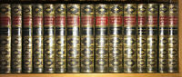 LEATHER Set;WORKS OF WASHINGTON IRVING! 1872!(COMPLETE 27VOL's!)George RARE!gift