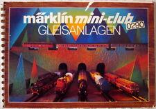 MÄRKLIN Z Mini-Club 0290 Gleisplan Gleispläne Gleisplanheft Gleisanlagen 1983