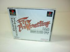 Fire Pro Wrestling Iron Slam 96 - Playstation 1 Ps1 Psx Ps - New & Sealed - 1996
