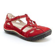 1613522 JSport by Jambu Womens Graham Encore Brown Mules Size 9