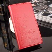 Funda libro flip piel sintetica tapa diseño flores Blackview Alife P1 Pro
