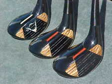 Dunlop Maxpower Refinished Golf Clubs set Woods Driver 3 4 w New Tour Wrap Grips