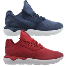 Adidas Tubular Runner men's mid-cut sneakers blue or red casual shoes NEW
