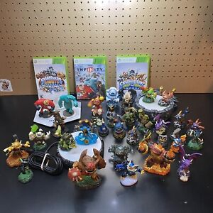 Huge Skylanders Lot Spyros, Giants, Swap Force, 3 portals, Infinity - Xbox 360