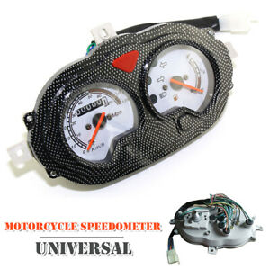 12V Motorcycle Speedometer Odometer Meter Instrument Gauge Accessories 150cc
