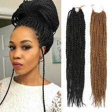 "18"" Senegalese Twist Braids Havana Crochet Twist Braids Hair Extension As Human"