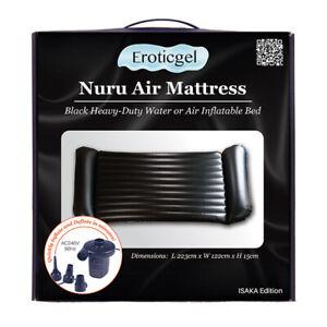 Nuru Air Mattress Massage Kit With Massage Powder