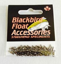 BLACKBIRD SWIVELS by REDWING TACKLE / 50 per PACK / STEELHEAD FISHING **NEW**