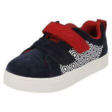 Clark's City Hero Lo Kids Shoes Marvel Captain America Size 5g