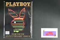 💎 PLAYBOY MAGAZINE:  JAN 1994 40TH ANNIVERSARY ISSUE COLLECTOR'S EDITION💎
