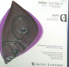 Altec Lansing In Ear/Ear clips. Air Fit upgrade series