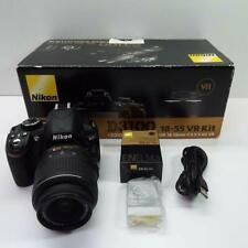 Nikon D3100 14.2MP Black Digital Camera w/ 18-55mm VR Lens Kit DISPLAY UNIT T68