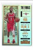 2017-18 Panini Contenders Basketball The Finals Ticket Parallel Chris Paul /99