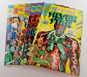 Silver Star #1-6 1983 Pacific Comics Full Run Set Six Issue Set