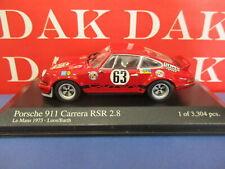 1 43 Minichamps Porsche 911 Carrera RSR 2.8 #63 24h le Mans 1973