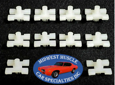 Mopar Chrysler Jeep Belt Side Molding Moulding Rivet Trim Clip Clips 10pcs K