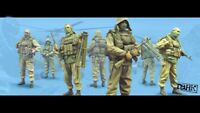 1/35 Resin Russian Special Force 4 Soldiers Kit Unpainted Unassembled BL631
