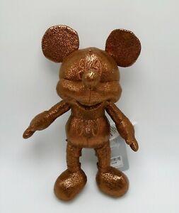 Disney Parcs Belle De La Balle Bronze Mickey Mouse Peluche