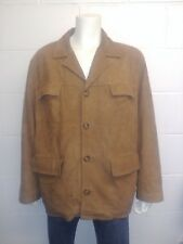 a00538cd Tommy Hilfiger 100% Leather jacket with button up front. with revere collar