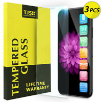 TJS [3-Pack] For Apple iPhone 11 Pro/XS/X Tempered Glass Screen Protector Guard