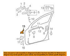 TOYOTA OEM-Door Hinge-Upper Left 6872012151